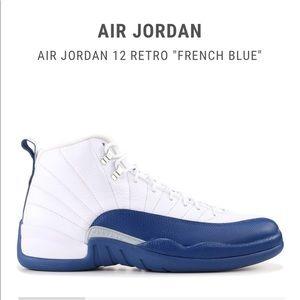 366f2018f67e39 Women s Air Jordan 12 French Blue on Poshmark